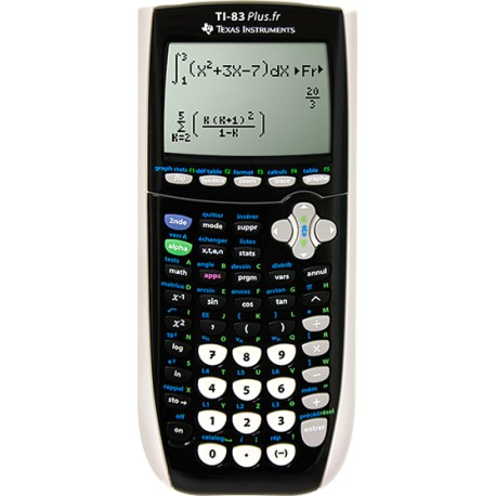 TEXAS INSTRUMENT Calculatrice graphique S TI-83 Plus fr