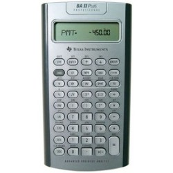 Texas Instruments BA II PLUS Professionnel