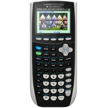Texas Instrument TI-84 Plus C Silver Édition Color