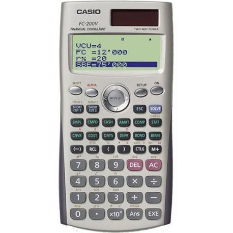 CASIO FC-200V Calculatrice financière
