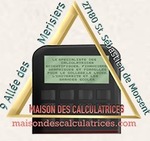 Maison des calculatrices