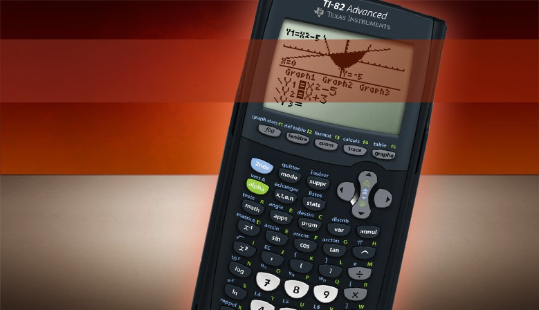 TEXAS INSTRUMENTS TI 82 ADVANCED GRAPHICS CALCULATOR